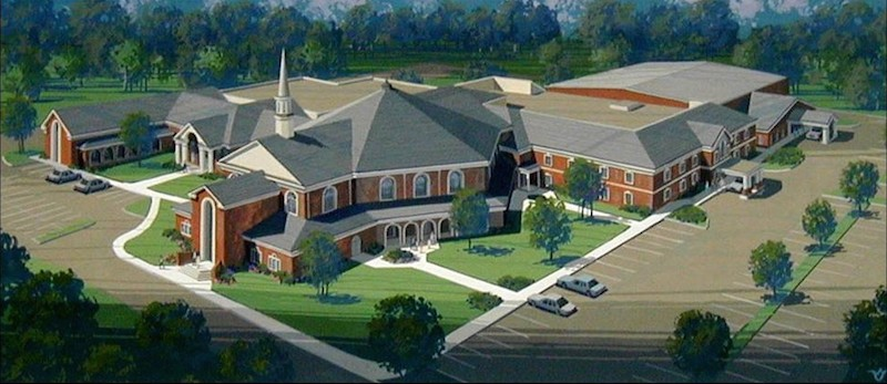 Shirley hills baptist church garbutt construction for Builders in warner robins ga
